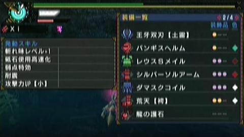 恐暴竜×ガチ双剣(7分14秒)装備