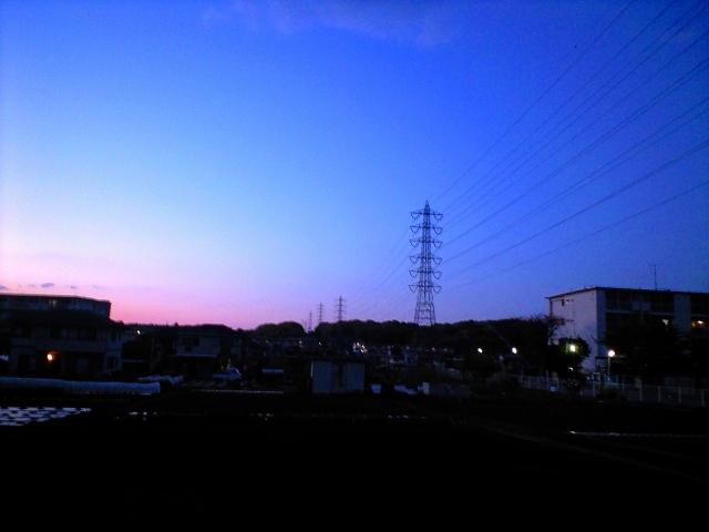 電線の風景