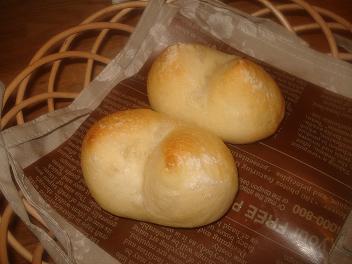 塩バタートッピングパン☆