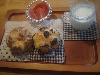 まったり朝ご飯