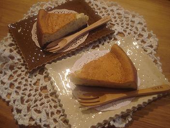 紅茶のスフレチーズケーキ★
