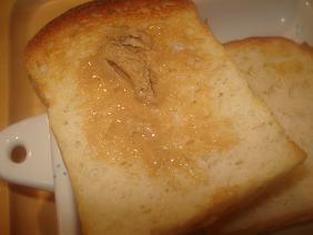 七穀バターをつけました