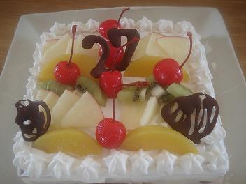 まつじゅんケーキ♪