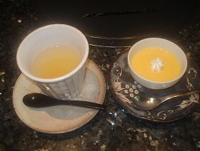 柚子茶&マンゴープリン