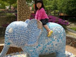 s-2013도자기코끼리