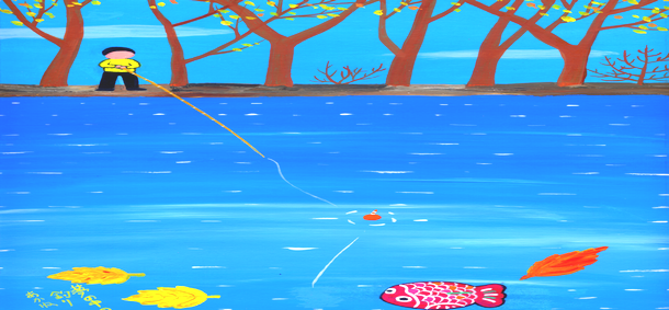 秋野あかねの夢の中の釣り