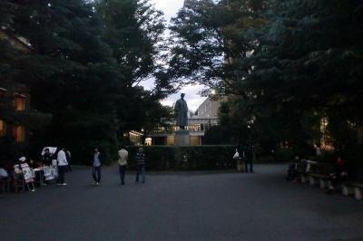 早稲田大学 銅像