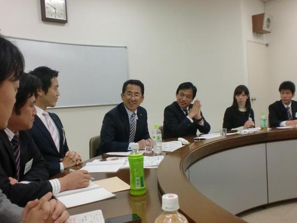 2010年11月13日 松下政経塾 横尾多久市長&海老根藤沢市長2