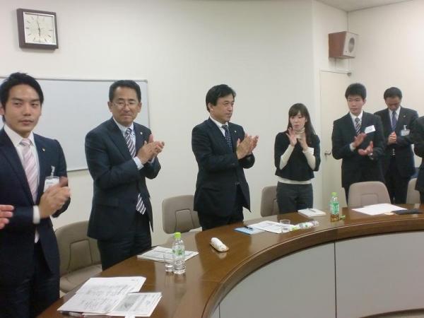 2010年11月13日 松下政経塾 横尾多久市長&海老根藤沢市長