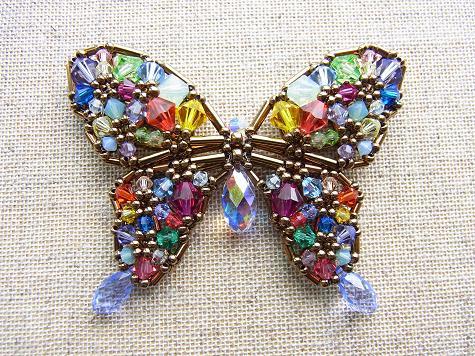 カラフル蝶々3