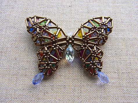 カラフル蝶々4