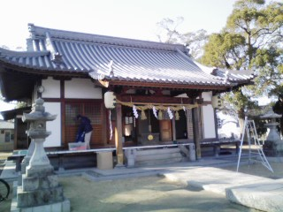 新羅神社②