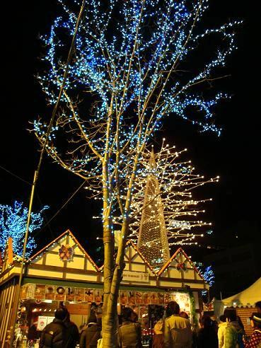 クリスマス市の様子