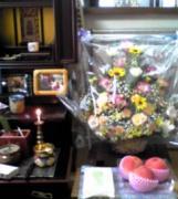 きれいなお花の籠