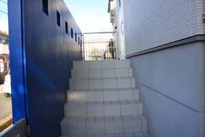 s様邸階段ー2
