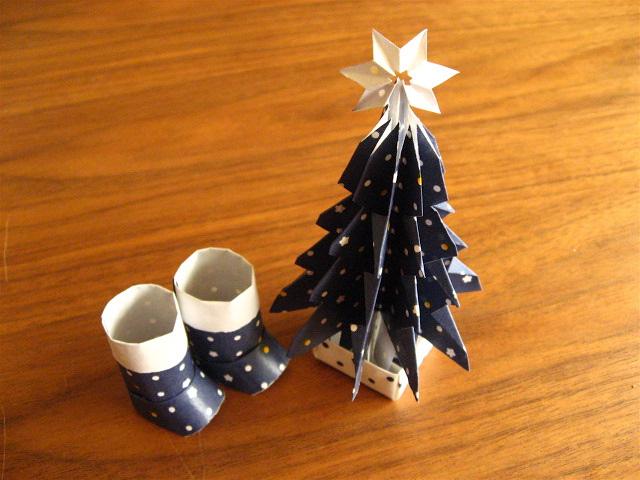ハート 折り紙 折り紙ツリー立体 : matome.naver.jp