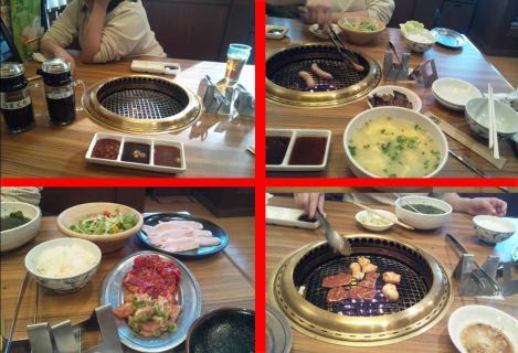 カルビ一丁沼津店で焼肉時間無制限の食べ放題の写メ画像4枚