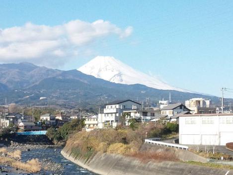 正月に撮った富士山のデジカメ写真撮影画像2013.1.3