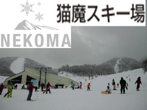 福島県の猫魔スキーばのデジカメ加工写真