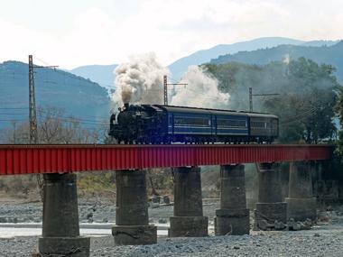 s1003レ第一大井川橋梁