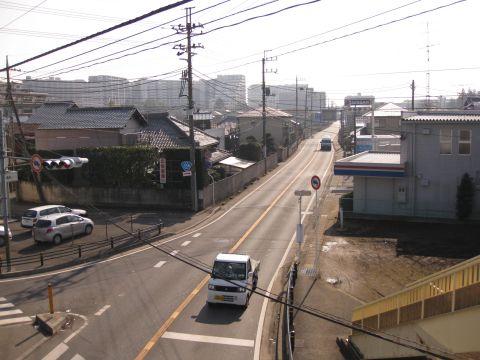 旧水戸街道 台田・我孫子