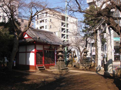 白山の八坂神社