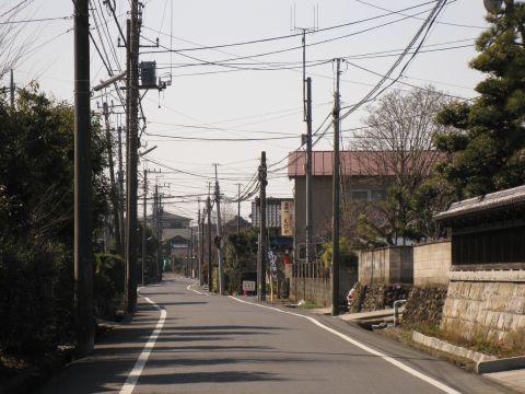 旧水戸街道 青山