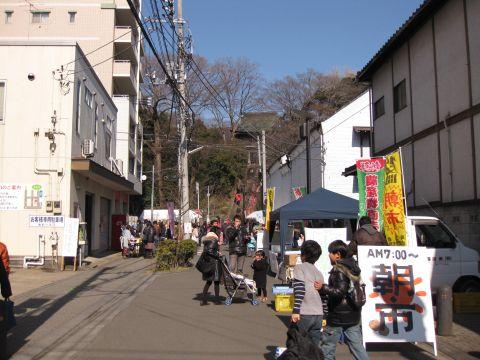 長禅寺参道