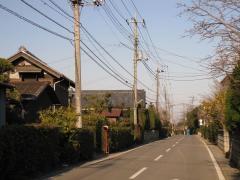 旧水戸街道 吉田