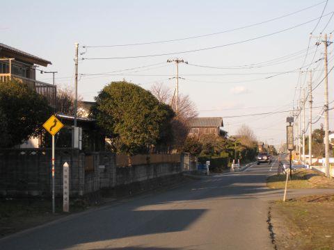 旧水戸街道 清水