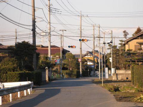 旧水戸街道 中田