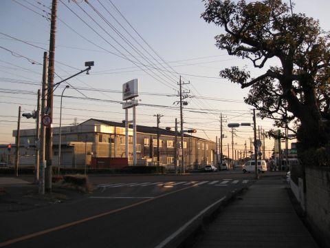 旧水戸街道 谷中・藤代