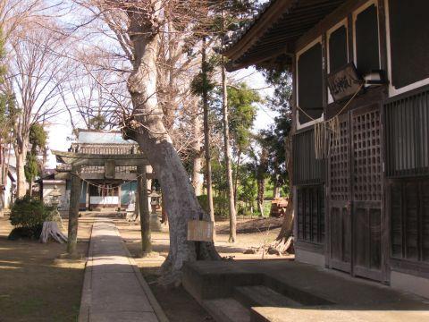 熊野神社と八坂神社