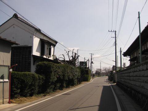 旧水戸街道 小通幸谷町