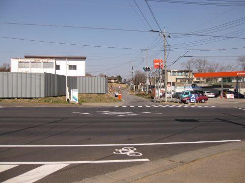 旧水戸街道 若柴町