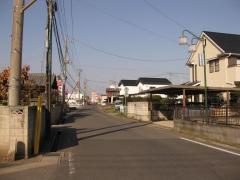 田宮町の旧道