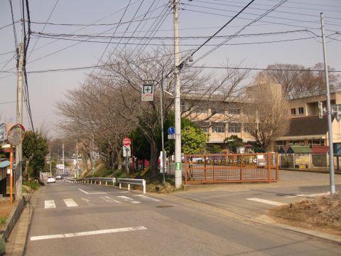 旧水戸街道 東小学校前