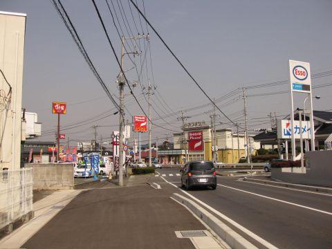 旧水戸街道 永国交差点