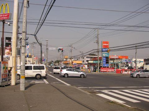 国道354号 天川団地入口交差点