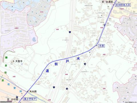 水戸街道 永国