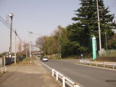 旧水戸街道 霞ヶ浦医療センター入口前