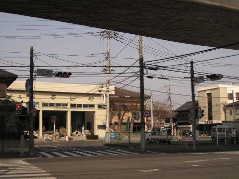 簀子橋跡と南門跡