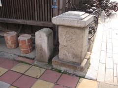 桜橋の欄干