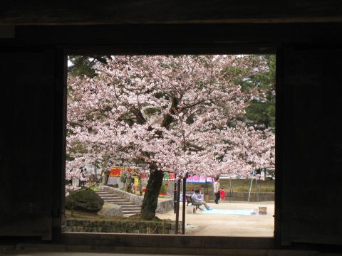 土浦城櫓門