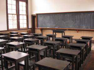 旧土浦中学校本館教室