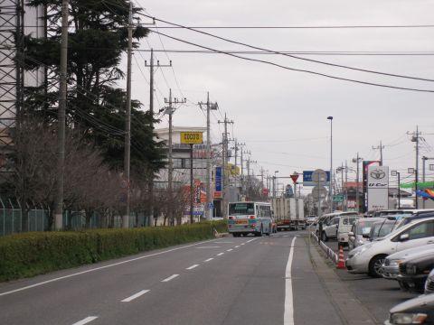 旧水戸街道 中貫