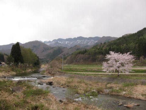 阿賀川(大川)と七ヶ岳