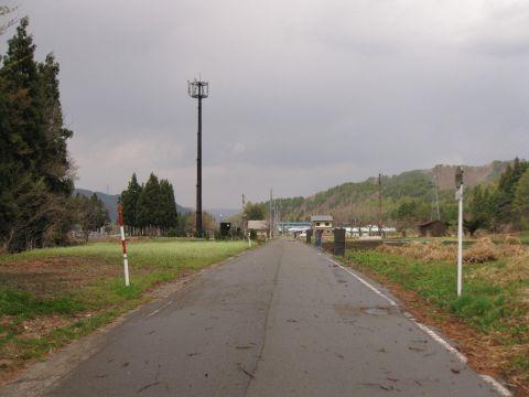 会津西街道旧道 糸沢