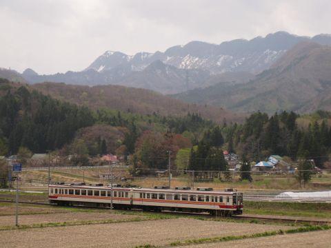 七ヶ岳と会津鉄道