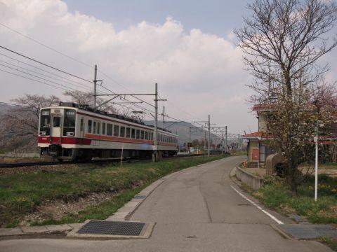 会津荒海駅付近